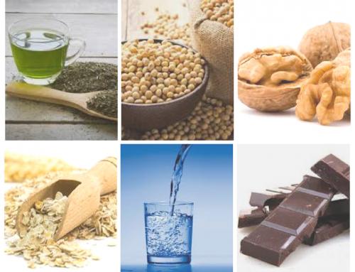 Six aliments bon pour la peau