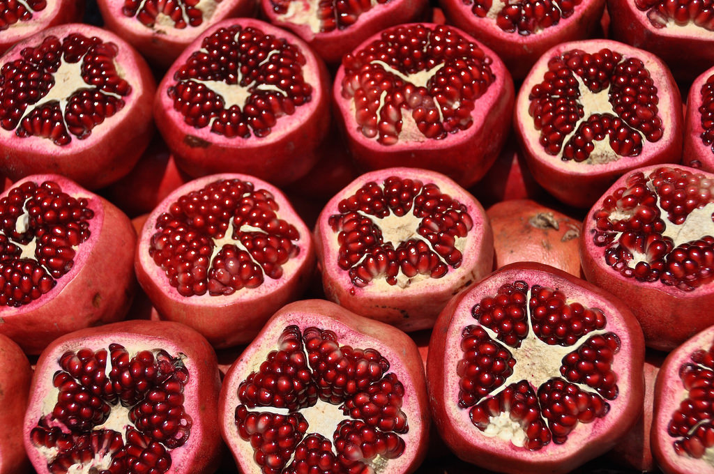 Superfruit: pomegranate
