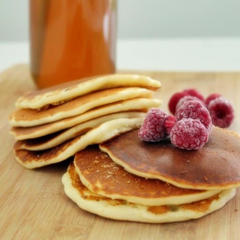 Einfache glutenfreie Pfannkuchen von Pink Tea Spoon