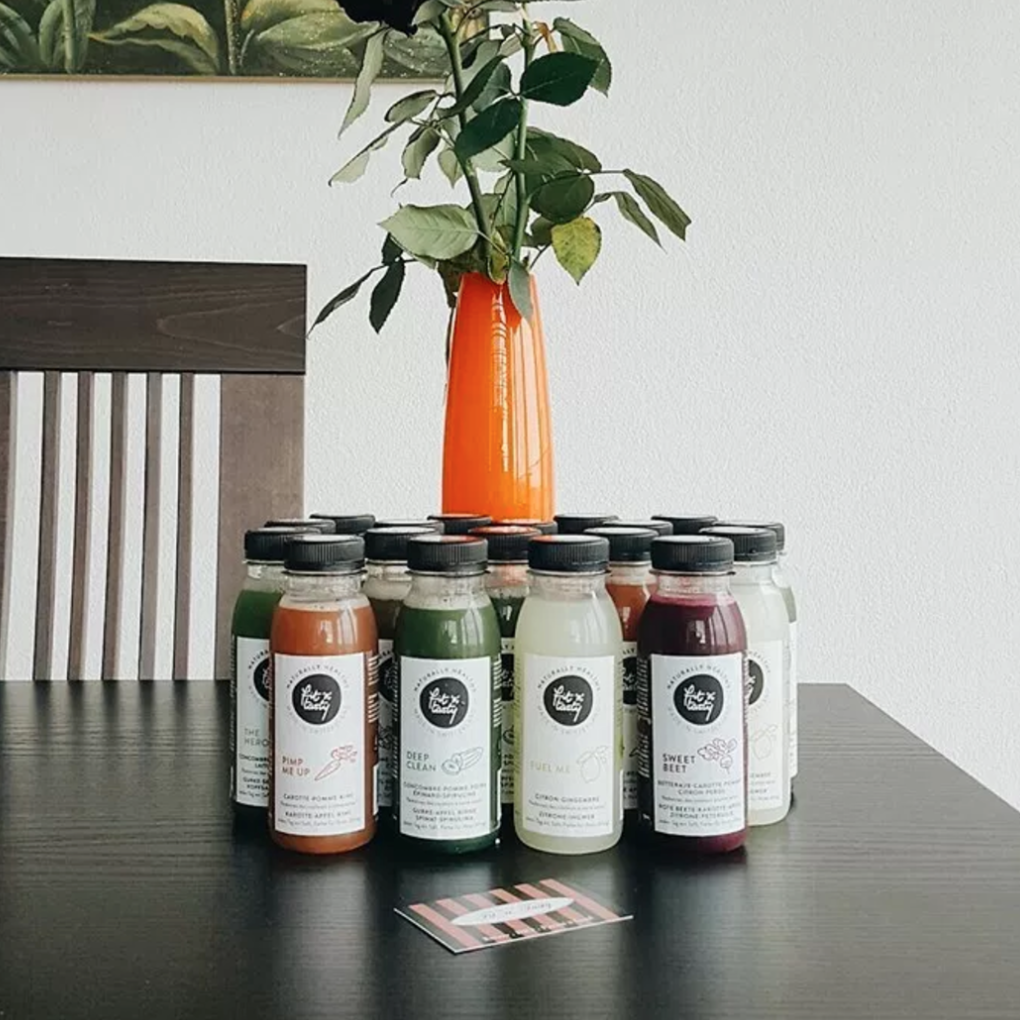 Anne Sophie from thw blog Grain de sable tries our First Date cleanse